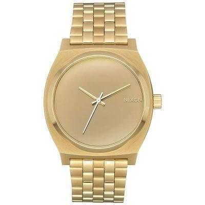 NIXON Time Teller Gold Stainless Steel Bracelet A045-2764