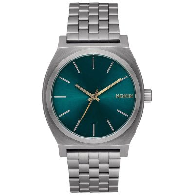NIXON Time Teller Silver Stainless Steel Bracelet A045-2789