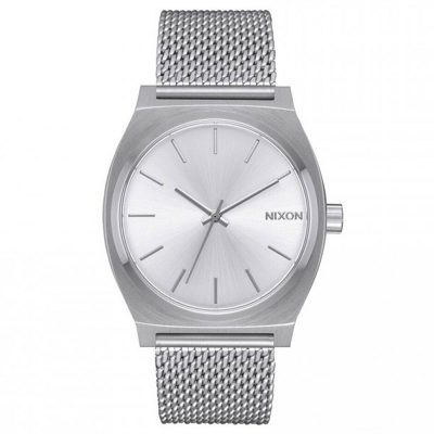 NIXON Time Teller Silver Stainless Steel Bracelet A11871-920