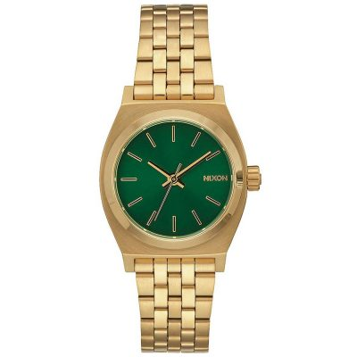 NIXON Small Time Teller Gold Stainless Steel Bracelet A399-1919