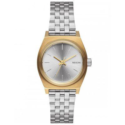 NIXON Small Time Teller Silver Sainless Steel Bracelet A399-2062