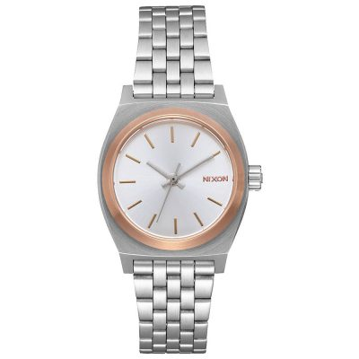 NIXON Time Teller Silver Stainless Steel Bracelet A399-2632