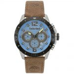 TIMBERLAND Harriston Chronograph Brown Leather Strap 15356JSTB-03