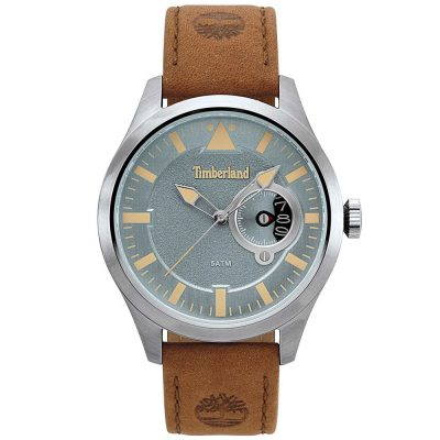 TIMBERLAND Marmont Brown Leather Strap 15361JS-03