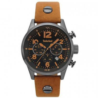 TIMBERLAND Jenness Brown Leather Strap 15376JSU-02