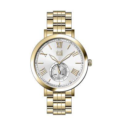 VISETTI Statement Gold Stainless Steel Bracelet PE-474GI