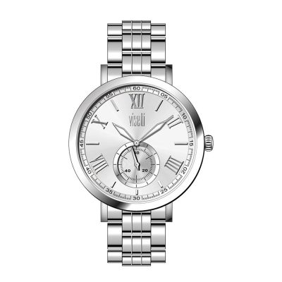 VISETTI Statement Silver Stainless Steel Bracelet PE-474SS