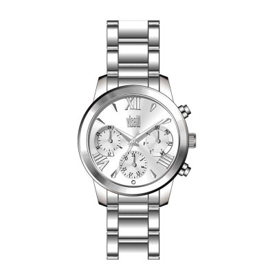 VISETTI Dolce Vita Silver Stainless Steel Bracelet PE-475SS