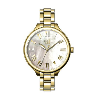 VISETTI So Pretty Gold Stainless Steel Bracelet PE-481GW