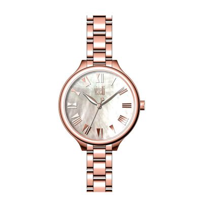 VISETTI So Pretty Rose Gold Stainless Steel Bracelet PE-481RW b186125e94f