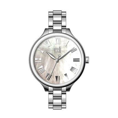 VISETTI So Pretty Silver Stainless Steel Bracelet PE-481SW