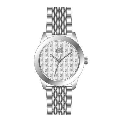 VISETTI La Rose Silver Stainless Steel Bracelet ZE-482SW