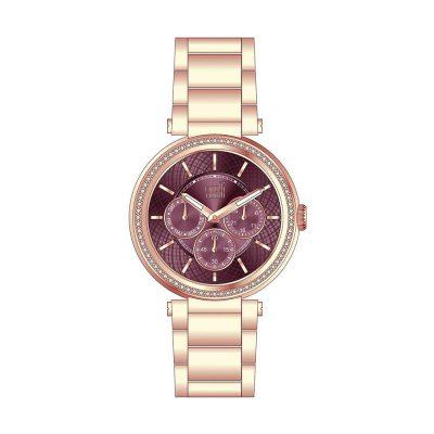 VISETTI Liberty Crystals Rose Gold Bracelet ZE-998RP