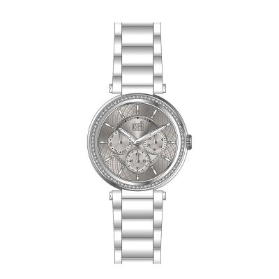 VISETTI Liberty Crystals Stainless Steel Bracelet ZE-998SI
