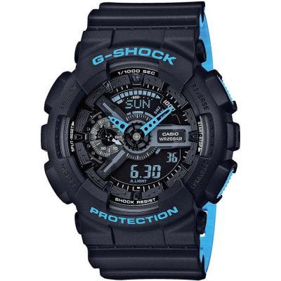 CASIO G-SHOCK Black Rubber Strap GA-110LN-1AER