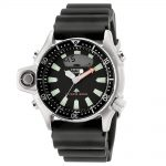 CITIZEN Promaster Aqualand Divers Black Rubber Strap JP2000-08E