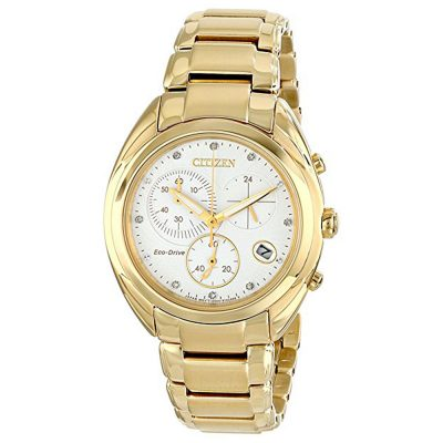 CITIZEN Eco Drive Gold Stainless Steel Bracelet FB1392-58A