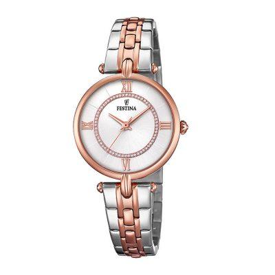 FESTINA Mademoiselle Rose Gold Stainless Steel Bracelet F20316-2