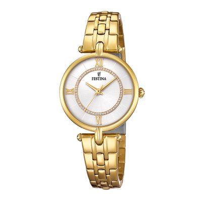 FESTINA Mademoiselle Gold Stainless Steel Bracelet F20317-1