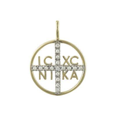 Κίτρινο Χρυσό Κωνσταντινάτο Κ9 KN193