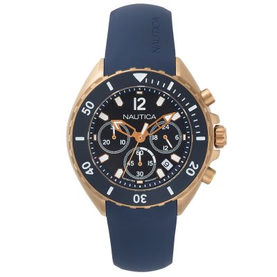 NAUTICA New Port Blue Silicone Strap NAPNWP007
