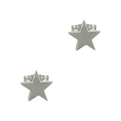 Λευκόχρυσα Παιδικά Σκουλαρίκια Αστεράκι Κ9 PSK326