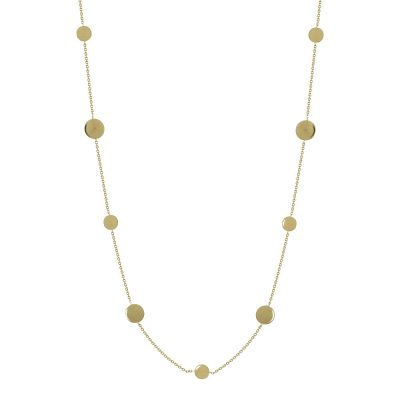 Κίτρινο Χρυσό Κολιέ Κ14 KL666