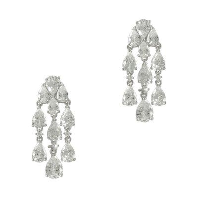Luxenter Σκουλαρίκια από Ασήμι Κρεμαστά LUX132