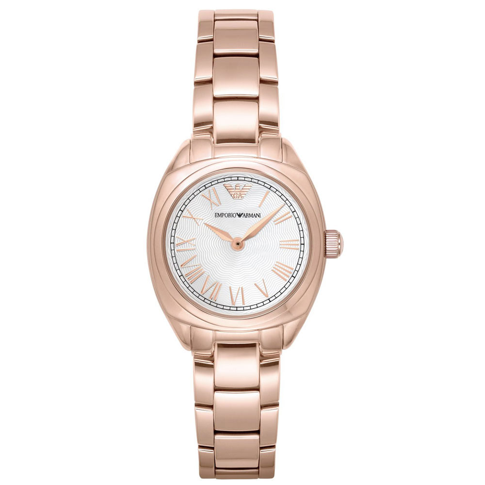 EMPORIO ARMANI Gamma Rose Gold Stainless Steel Bracelet AR11038