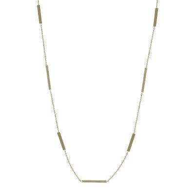 Kίτρινο Χρυσό Κολιέ Κ14 ΚL668