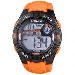 XONIX Orange Rubber Strap CC-001