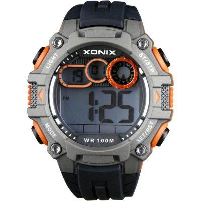 XONIX Black Rubber Strap GG-003