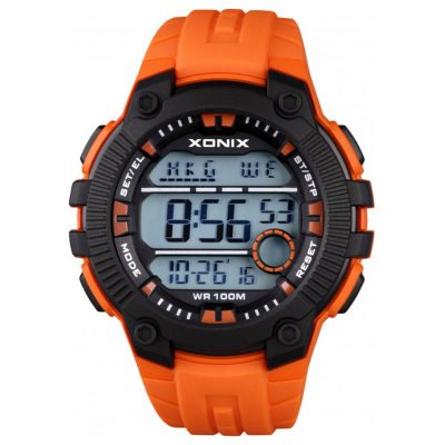 XONIX Orange Rubber Strap NR-001