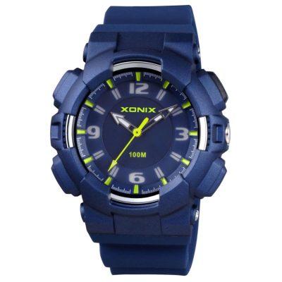 XONIX Blue Rubber Strap OA-005