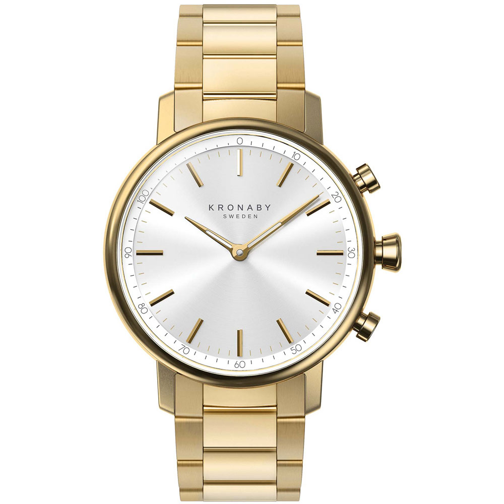 KRONABY Smart-Watch Carat Gold Stainless Steel Bracelet A1000-2447