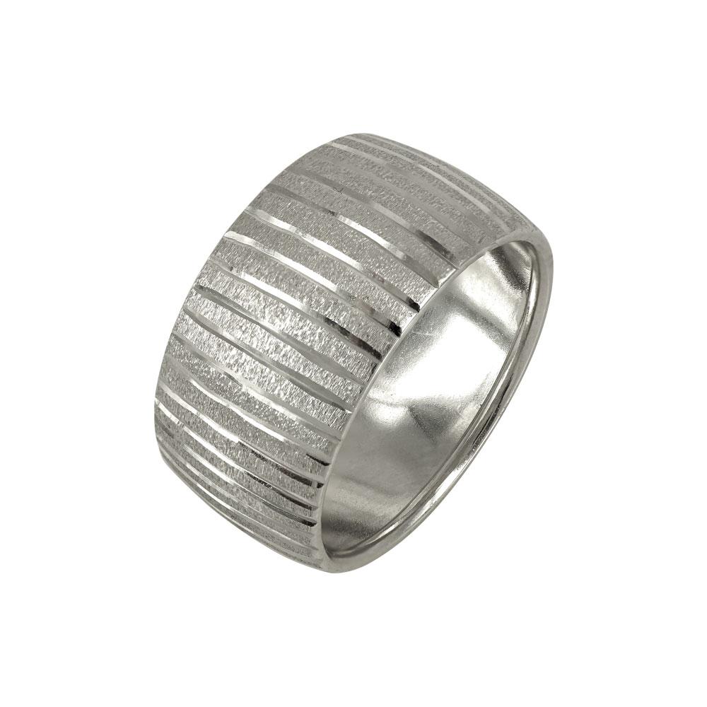 Λευκόχρυσο Δαχτυλίδι K14 DX649