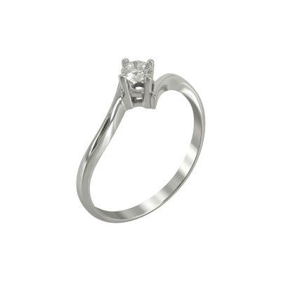 Μονόπετρο Δαχτυλίδι Με Διαμάντια Brilliant K18 DDX220