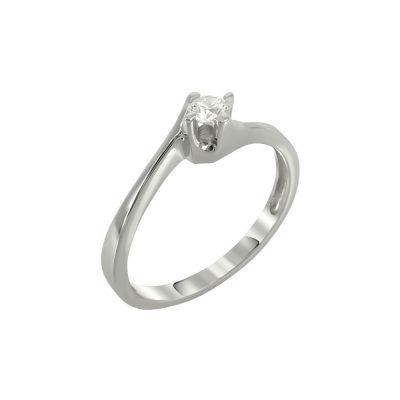 Μονόπετρο Δαχτυλίδι Με Διαμάντια Brilliant K18 DDX225