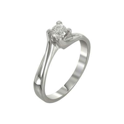 Μονόπετρο Δαχτυλίδι Με Διαμάντια Brilliant K18 DDX227