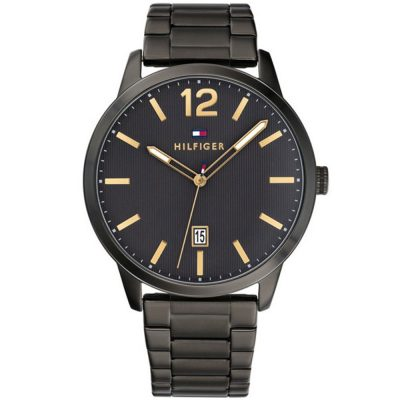 TOMMY HILFIGER Dustin Black Stainless Steel Bracelet 1791499