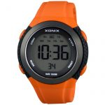XONIX Orange Rubber Strap JC-101