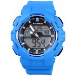 XONIX Blue Rubber Strap MV-003