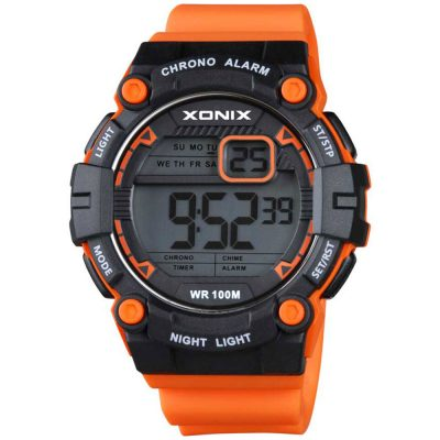 XONIX Orange Rubber Strap NS-001