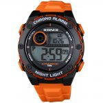 XONIX Orange Rubber Strap NV-006