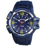 XONIX Blue Rubber Strap QE-004
