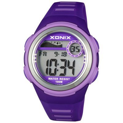 XONIX Purple Rubber Strap IC-004