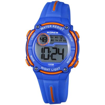 XONIX Kids Blue Rubber Strap IP-004