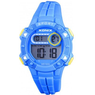 XONIX Light BLue Rubber Strap IZ-003