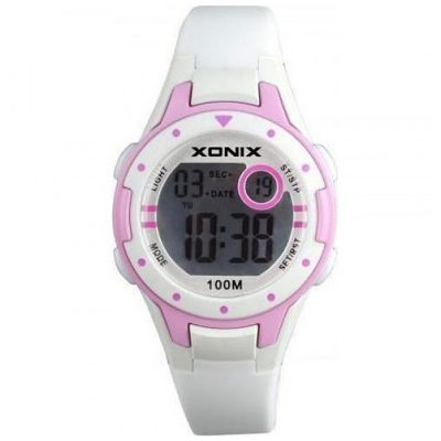 XONIX White Rubber Strap Kids IG-001