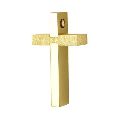 Σταυρός Βάπτισης Ανδρικός Σε Κίτρινο Χρυσό 18 Καρατίων ST2378 57a8bb98b6c